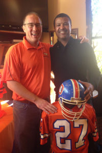 Guest Speaker Steve Atwater at the Denver Broncos Quarterback Club | The Official Booster Club