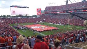 Denver Broncos Booster Club Fans at Tampa Bay Game