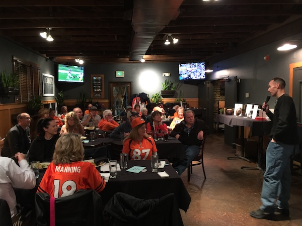 Scott Novak speaks to the Denver Broncos Quarterback Club | The Official Booster Club